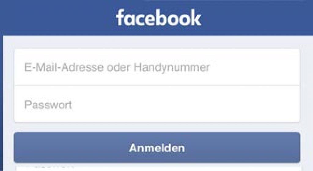 facebook anmelden